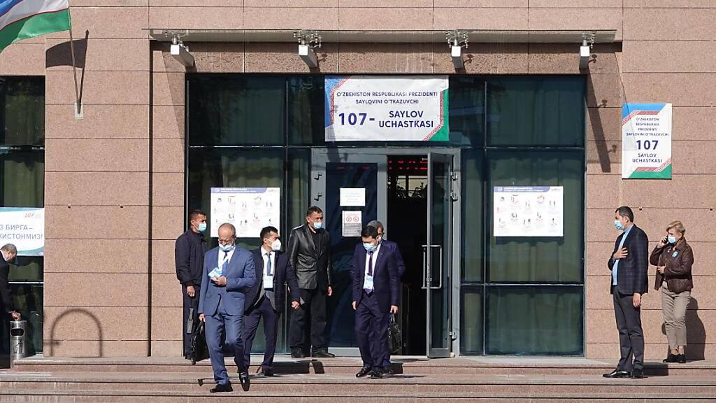 Haushoher Wahlsieg für Präsident Mirsijojew in Usbekistan erwartet