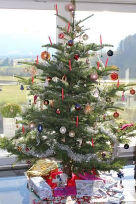 Weihnachtsbaum von Georges Kohler, Aarau