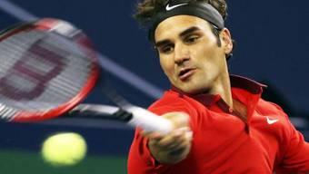 Roger Federer musste für seinen Sieg alles in die Waagschale werfen