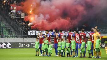 Der FC Basel wird seine Heimspiele vor kleinem Publikum austragen müssen.