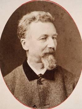 Dichter Alfred Hartmann (1814– 1897), dr Postheiri, aus Solothurn.