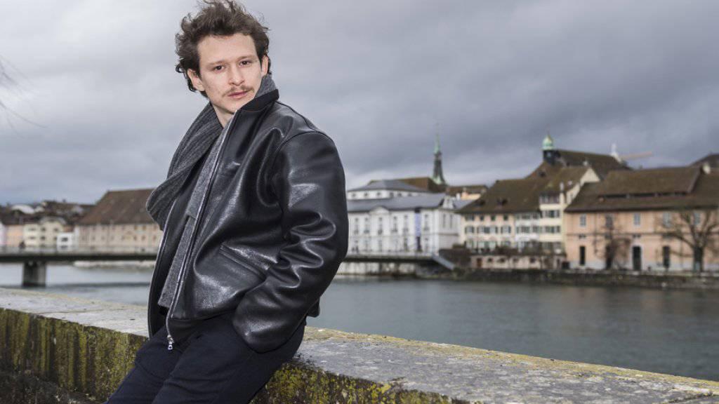 Feiert an den 54, Solothurner Filmtagen seine Erfolge. Am Mittwochabend wurde Schauspieler Joel Basman erneut für den Schweizer Filmpreis nominiert.