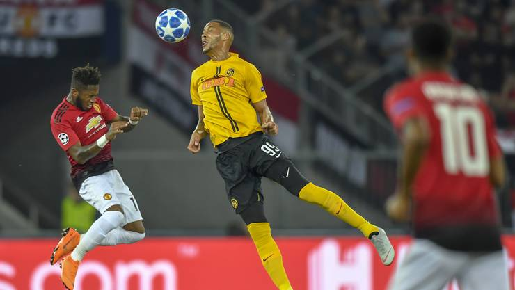 Trotz ansprechender Leistung haben die Young Boys das Spiel gegen Man United mit 0:3 verloren.