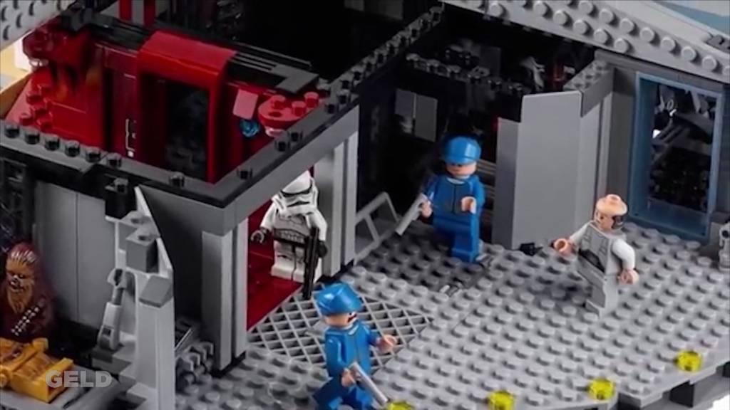 Loeb wird zur Edelbrocki / Satter Gewinn für Lego