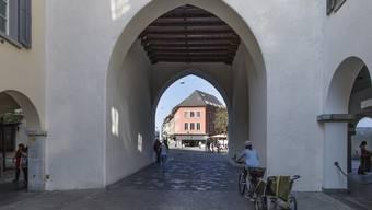 Stadtturmtor in Baden.
