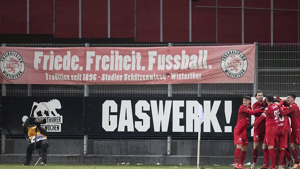 Spiel in Winterthur wegen Frost verschoben
