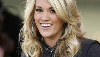 Carrie Underwood liebt einen Eishockeyspieler (Archiv)
