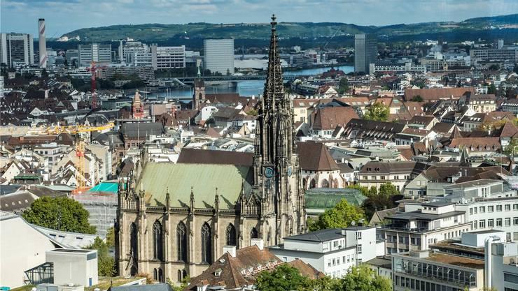 Die Elisabethenkirche ist sanierungsbedürftig. Man findet wohl eher selten Schätze in ihr. Ein Einbruch lohnt sich also nicht.