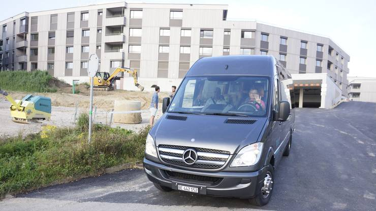 Christine Kellenberger chauffiert den Biberister Schulbus.