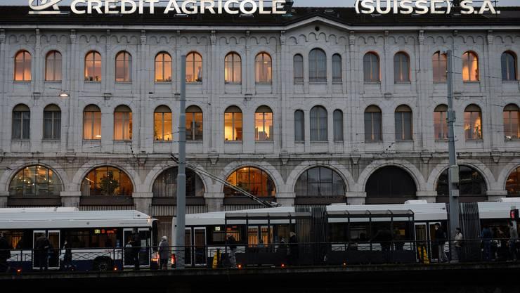 Eine der gebüssten Banken ist die Crédit Agricole. Sie einigte sich mit der Weko im Einvernehmen.