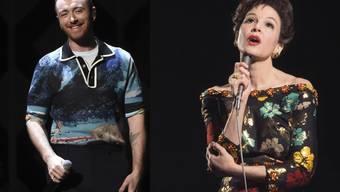 """Singen für den Soundtrack des Judy-Garland-Biopics zusammen """"Get Happy"""": der britische Sänger Sam Smith und Hollywood-Schauspielerin Renée Zellweger."""
