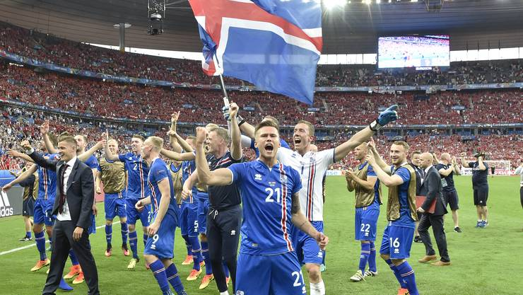 EM-Märchen: Island jubelt über Achtelfinal-Qualifikation