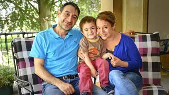 Die Familie Mazin ist das perfekte Beispiel von bestens integrierten Flüchtlingen.