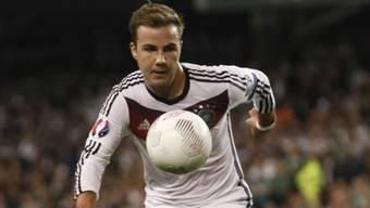 Mario Götze verletzte sich in der EM-Qualifikation gegen Irland