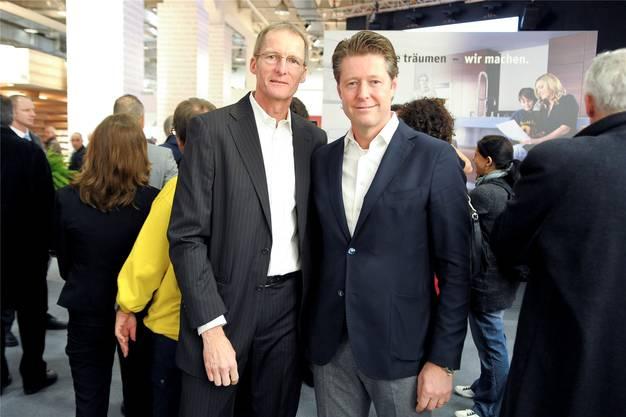 Peter Holenstein und Jean-Marc Devaud (r.).