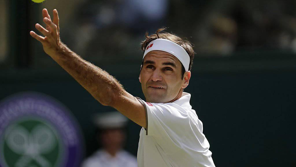 Federer mit Startsieg nach Extrarunde
