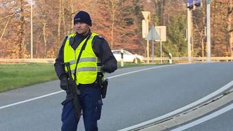 Grosseinsatz der Aargauer Kantonspolizei