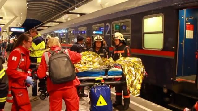 Nachtzug aus Zürich: Über 50 Verletzte