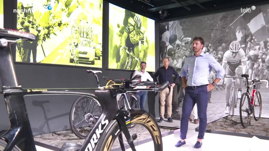 Neue Fabian-Cancellara-Ausstellung im Verkehrshaus