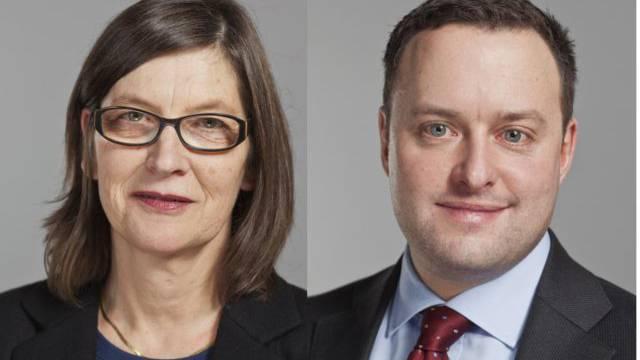 Wer vertritt die Interessen der Region in Bern besser? Verbaler Kleinkrieg zwischen Silvia Schenker und Sebastian Frehner.