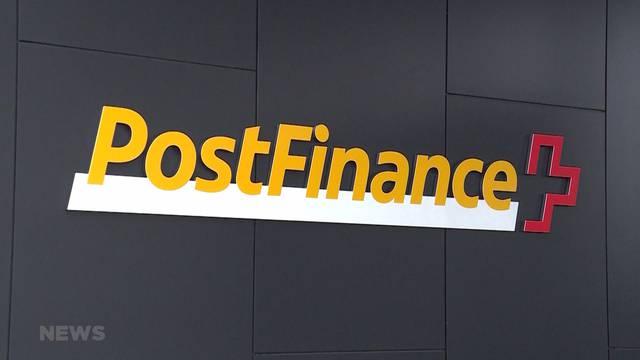 Postfinance zeigt falsche Kontostände an