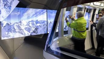 Die Skymetro unter dem Flughafen Zürich hat ein neues Tunnelkino