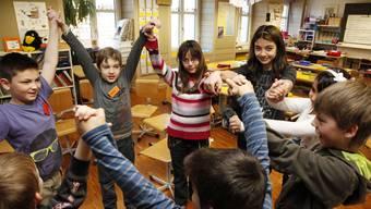 Tage der offenen Schule im Schulhaus Oberdorf in Derendingen