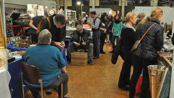 Die Antiquitätenmesse im Tägi. (Archivbild)