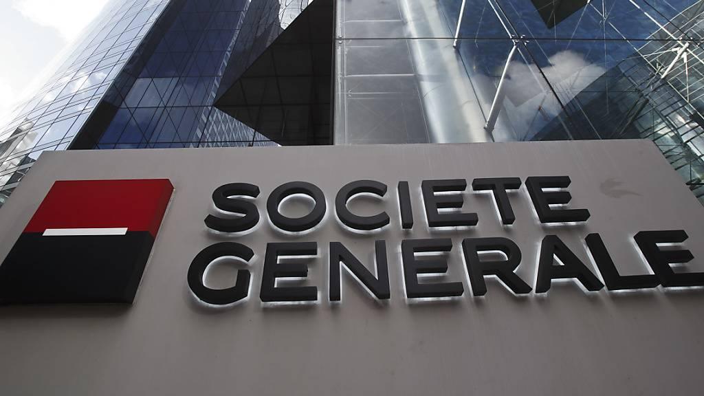 Société Générale mit Milliardenverlust im zweiten Quartal