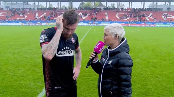 Jan Löhmansröben liefert das Fussballer-Interview des Jahres – doch für ihn hat es Folgen.