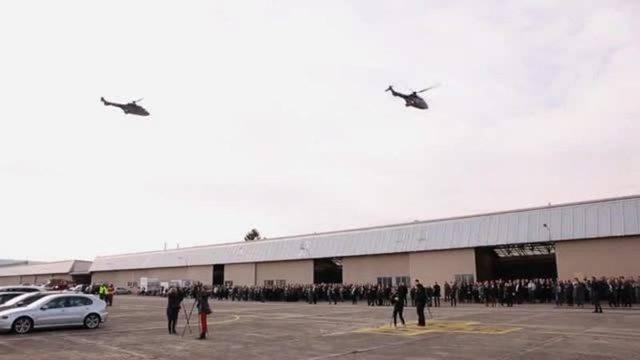 Helikopter-Absturz: Letzter Gruss für verunglückten Piloten