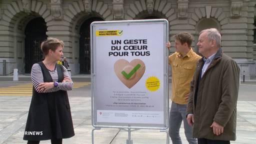 Neue Impf-Kampagne mit Promis: Steffi Buchli und Co. weibeln für Corona-Impfung