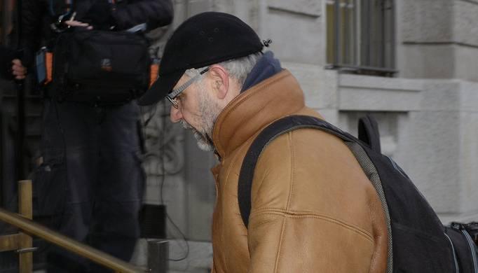 Rudolf Elmer vor dem Zürcher Bezirksgericht im Dezember 2014.