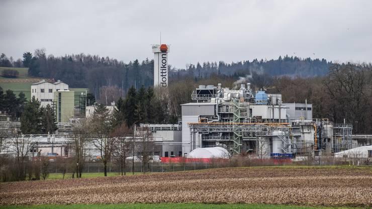 Die ES Dottikon ist laut Umfrage der Aargauischen Industrie- und Handelskammer eines der prosperierendsten Unternehmen im Kanton. Toni Widmer