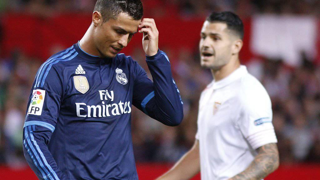 Ratloser Cristiano Ronaldo (links) in Sevilla