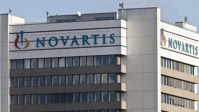 Aufnahme des Hauptsitzes von Novartis in Basel (Archiv)