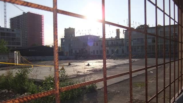 Das Labitzke-Areal in Zürich: Seit Monaten ist es besetzt - nun steht die Räumung bevor.