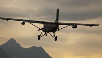 Ein Pilatus PC-6 Porter in seinem Element