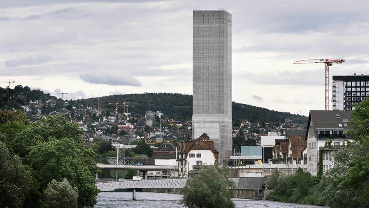 Blick auf den Swissmill-Tower.