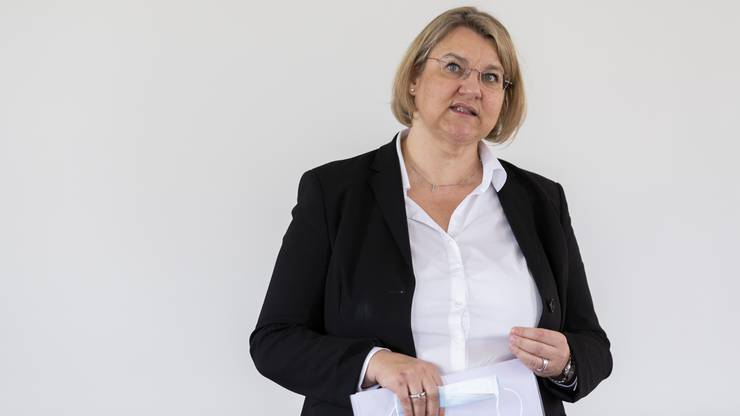 Kantonsärztin Yvonne Hummel muss mehr Personal für das Contact Tracing Center rekrutieren.