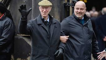 Jack Charlton (links) ist mit 85 Jahren verstorben