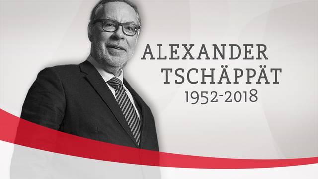 Berner Ex-Stapi Alexander Tschäppät gestorben