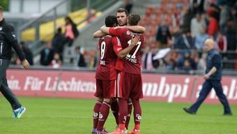 Der FC Vaduz startete mit einem Sieg in die neue Saison