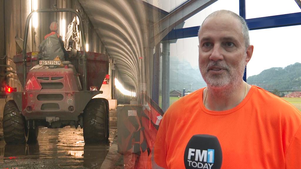 So sieht es auf der Baustelle im Bommersteintunnel aus