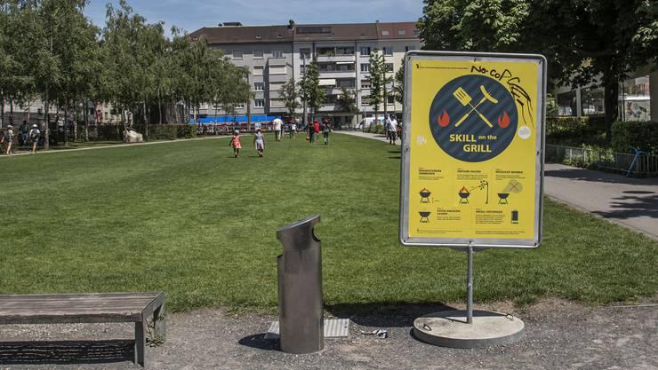 Die Dreirosenanlage ist ein Hotspot der städtischen Bevölkerungsentwicklung – ebenso das Rheinufer.