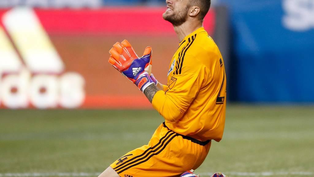 Stefan Frei kämpft mit den Seattle Sounders um den MLS-Meistertitel.  (Otto Greule Jr/Getty Images)