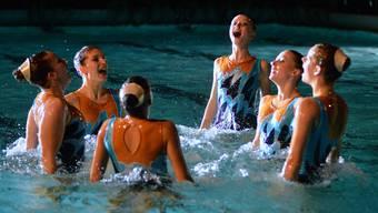 Synchronschwimmerinnen des Schwimmclubs Solothurn
