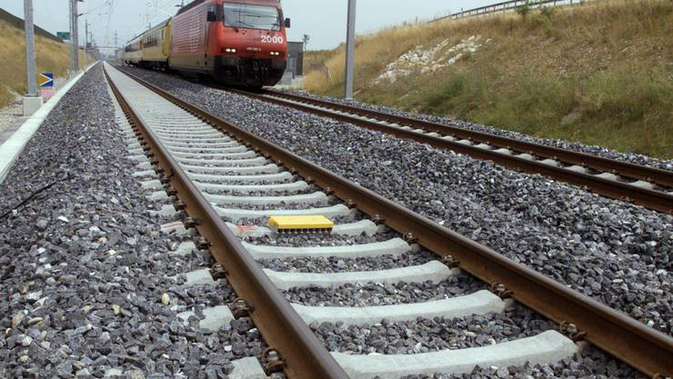 Die Strecke Mattstetten-Rothrust (Bild) und Solothurn-Wanzwil werden wegen Unterhaltungsarbeiten gesperrt.