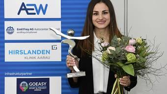 Die Gewinnerin der Sportlerwahl 2019: Elena Quirici.