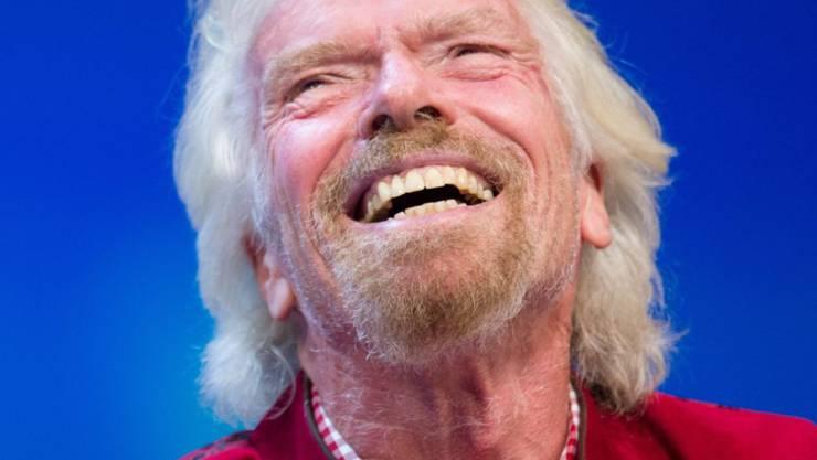 Will ein grosses Benefizkonzert für Venezuela organisieren: der britische Milliardär und Virgin-Gründer Richard Branson. (Archivbild)